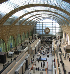 Orsay Museum big hall