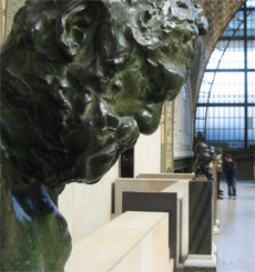 Photo of Victor Hugo sculpture - First Floor Orsay Museum
